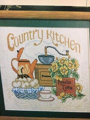 Kitchen Cross Stitch Pattern - Country Kitchen Cross Stitch Pattern  MS6