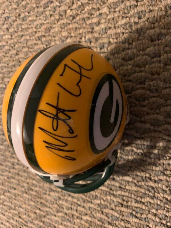 Coach Matt LaFleur Signed  Mini Helmet Autographed Green Bay Packers