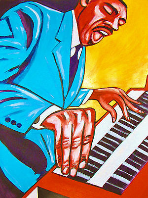JIMMY SMITH PRINT poster jazz hammond b3 organ keyboard trio blue note cd best (Best Paper Organizer)