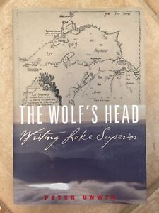 The Wolf's Head Writing Lake Superior by Peter Unwin