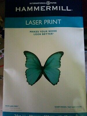 Hammermill Paper Laser Print 32lb 11 X 17- 98 Bright 500 Sheets 4