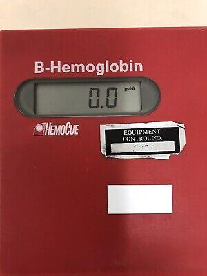 Hemocue B-hemoglobin Photometer System Blood Glucose Analyzer Lab