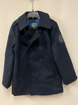 Woolrich Boys All Weather Peacoat Size 6T NWT $115