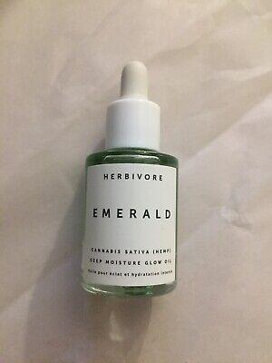 HERBIVORE Emerald Hemp Seed Deep Moisture Glow Oil .3 oz