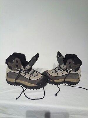 Salomon Clima Dry Mens Hiking Hi top Boots Uk 6 Ref Ba05