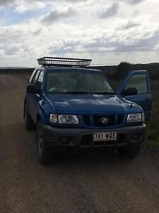 Holden Frontera (4WD) with camping gear Perth Perth City Area Preview