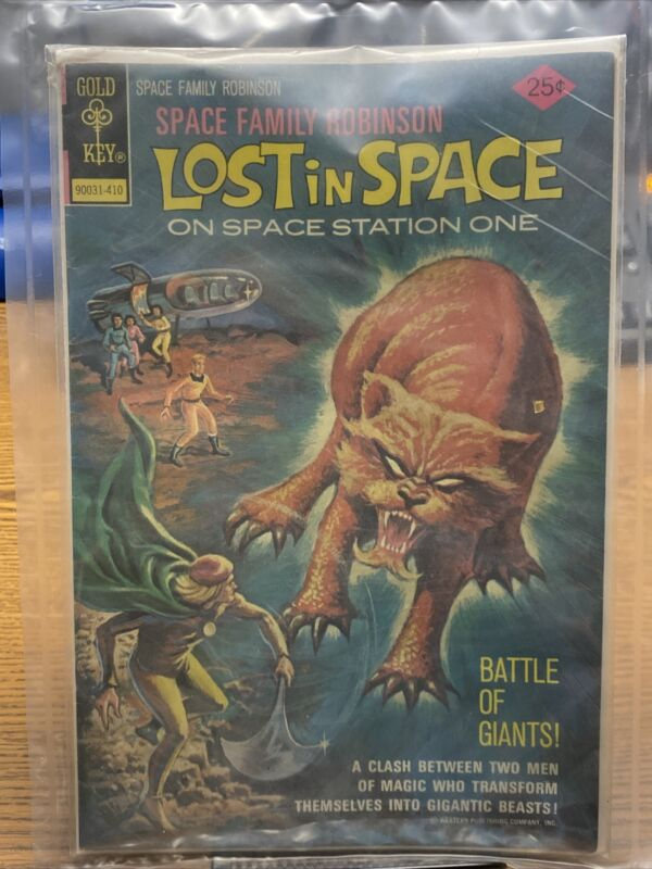 Very Rare Lost in Space Comic Book 1974 Space Family Robinson