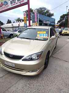 2004 Toyota Camry sportivo manual long rego free warranty Canley Vale Fairfield Area Preview