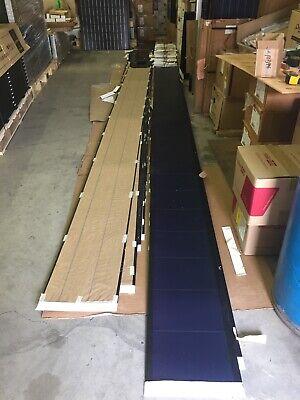 2 x Peel & Stick 136 watt Uni-Solar Laminate Solar Panel Flexible 24v Unisolar