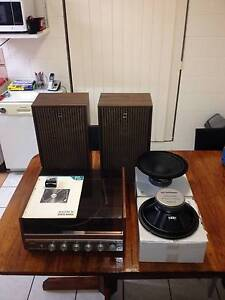Thorn Record Player & OldSkool Sharp Speaker Boxes Kelso Townsville Surrounds Preview