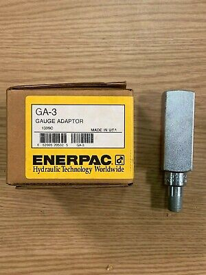 Enerpac Ga3 Gauge Adapter Gauge Mount For Hydraulics