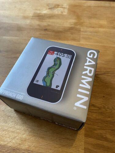 Garmin Approach G80 Golf GPS-Gerät mit radargestützter Golfschwung-Analyse