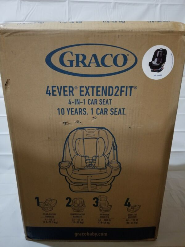 Graco Baby 4Ever Extend2Fit 4-in-1 Convertible Car Seat - Jodie
