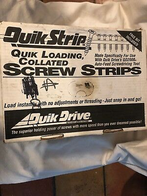 Quik Strip Quick Drives Sswsc212s Approx 1500