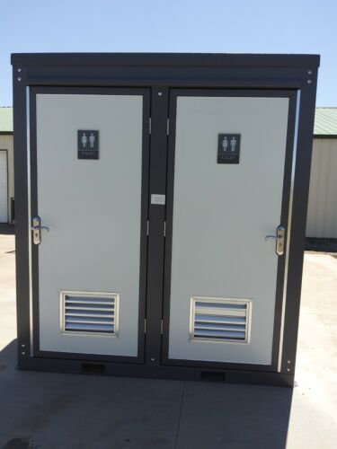 New Bastone Unisex Portable Toilet Bathroom Mobile Restroom w/Sink 110V