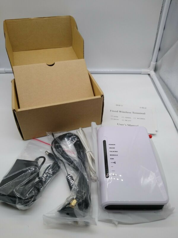 LED 4G 3G GSM Fixed Wireless Terminal Phone Line