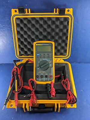 Fluke 787 Processmeter Excellent Screen Protector Case Accessories