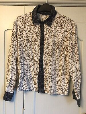House Of Hackney Silk Blouse/ Shirt, Size Small, Excellent Condition