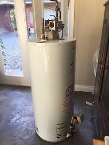 Réservoir a eau  chaude