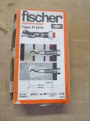 FISCHER Injektionsanker Type FI M12 Art. 2504422