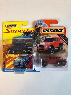 Matchbox Mercedes Benz AMG 6x6 Lot of 2!! 🔥🔥 *Box Shipping*