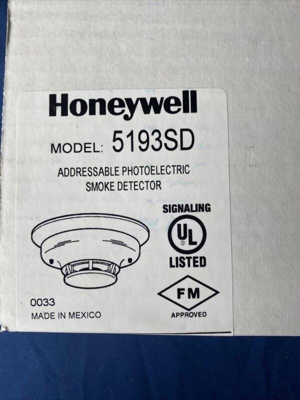 Honeywell 5193SD Addressable Photoelectric Smoke Detector