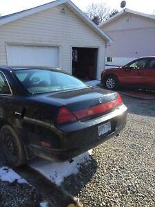 1999 Honda Accord EX for parts or fix