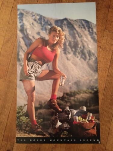 COORS LIGHT BEER POSTER