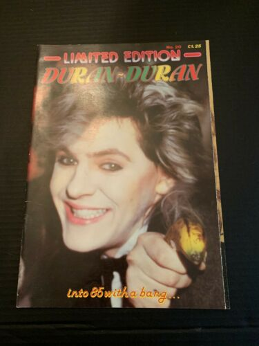 Limited Edition Duran Duran Into 85 With A Bang NO 20 Magazine