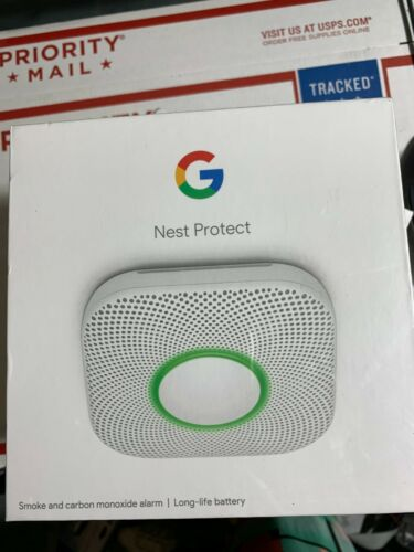Nest Protect Pro Edition S3004PWBUS. 2nd Gen Smoke Detector W/ Battery.06A.