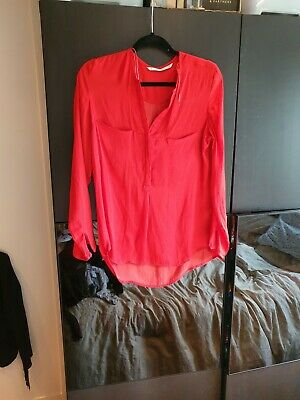 Zara Red Shirt L