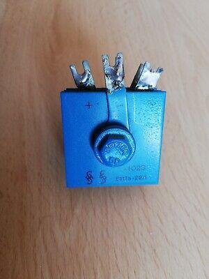 Brückengleichrichter Typ B40C1500//1000 40Volt Rare Vintage 1St 1,5Amp Siemens