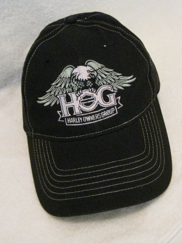 "HARLEY OWNERS GROUP ""HOG"" EAGLE BASEBALL HAT (LAST ONE)"