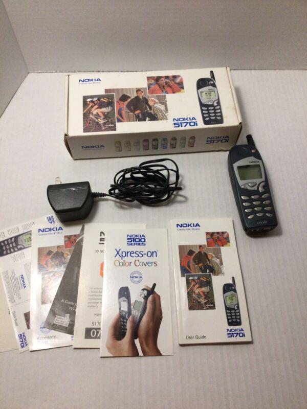 Nokia 5170i With Original Box And Manual