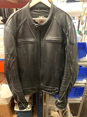 harley davidson leather jacket 2xl Tall