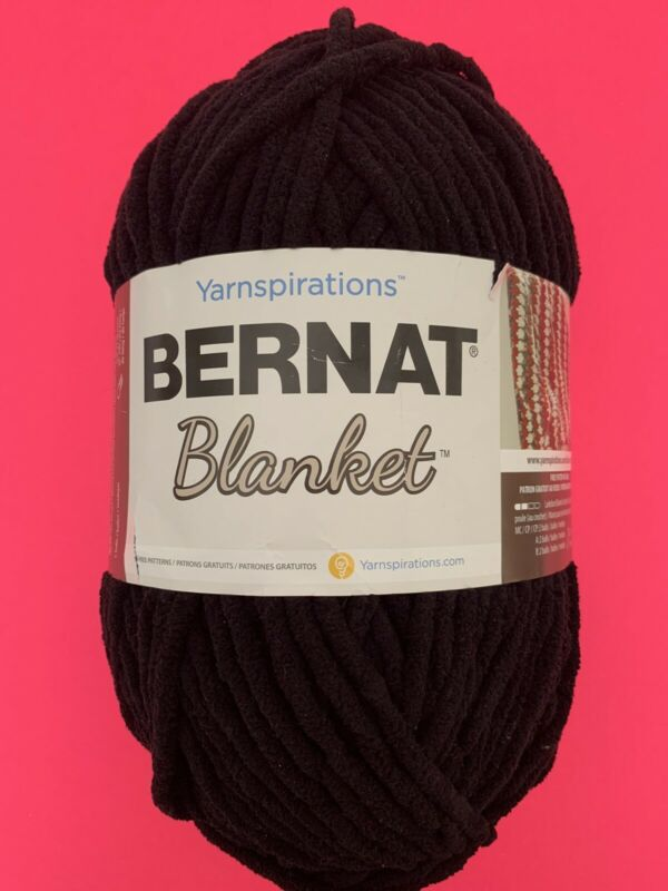 Bernat Blanket Black Ball Yarn