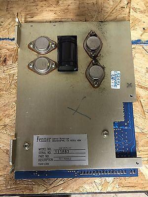 Anilam Servo Drive Sdf 1525-12 Fenner Servo Dynamics Ycm 40 Cnc Mill