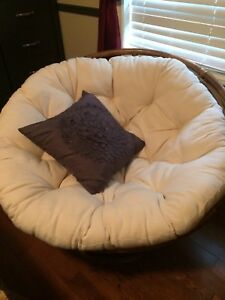 Papasan chair / cushion
