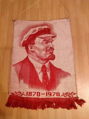 Soviet Union  Pennant Flag Banner - 100 years to Vladimir Lenin 1970