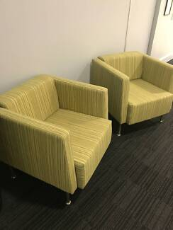 Comfy Lime couch chairs