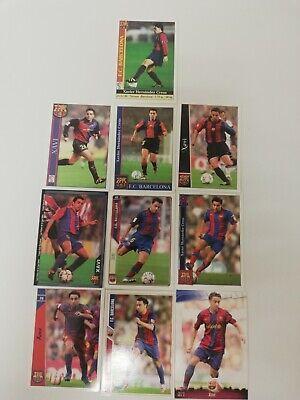 Xavi Hernández FC Barcelona Mundicromo Las Fichas de la Liga Año 2000...