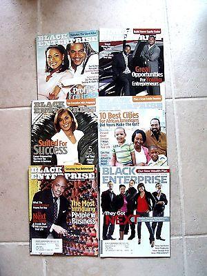 6 BLACK ENTERPRISE MAGAZINES 2004 2006 2007 2008 2009 FINANCIAL BAILOUT MAGAZINE