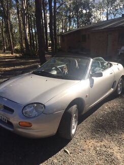 97 MGF Soft Top Two Seater