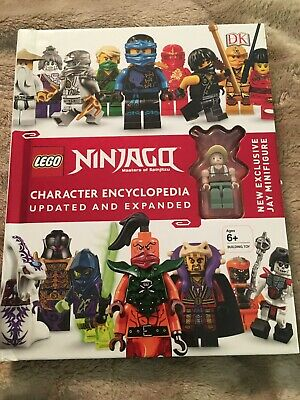 LEGO NINJAGO Character Encyclopedia, Updated Edition: Minifigure Not Included