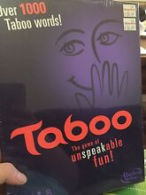 Taboo board game, brand new in seal Willagee Melville Area Preview