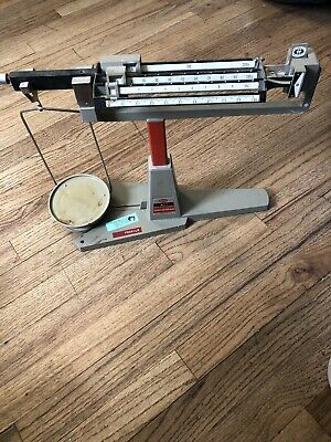 Vintage Ohaus 311 Cent-o-gram Triple Beam Balance Scale