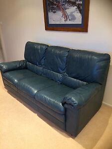 Natuzzi Italian Leather Lounge Glenwood Blacktown Area Preview