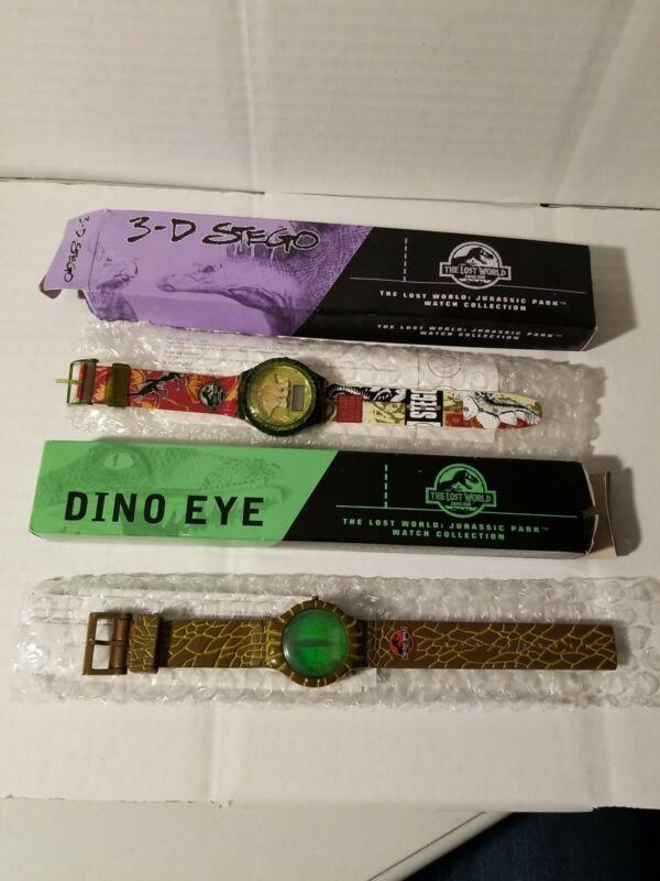 1997 Burger King Jurassic Park Watch. Dino Eye And 3-D Stego