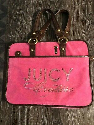 PINK JUICY COUTURE Bling Laptop Carrying -