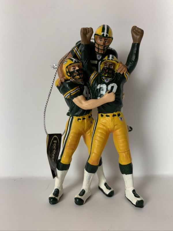 Forever Collectibles Christmas Ornament Green Bay Packers *Damaged